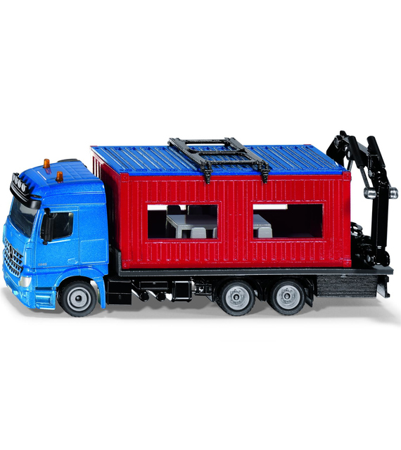 Siku 3556 Camion con Container Edile 1:50
