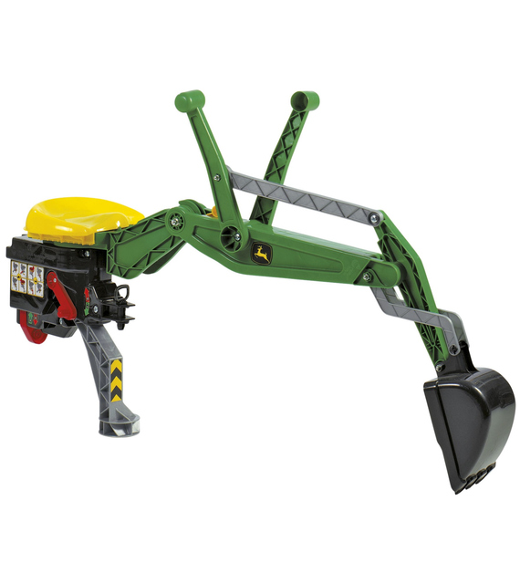 Rolly Toys 409358 John Deere RollyBackhoe Scavatrice Posteriore