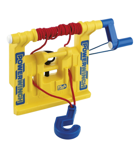 Rolly Toys 409006 RollyPowerwinch Verricello Giallo