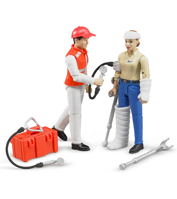 FIGURE SET AMBULANCE BRUDER